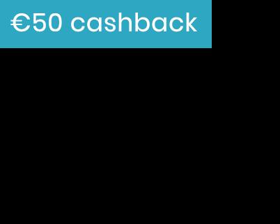 50 cashback