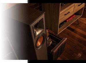 Klipsch R-610F - Tractrix hoorn
