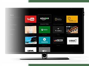 loewe bild lichtgrijs 4k uhd tv plattetv uw specialist in televisie audio. Black Bedroom Furniture Sets. Home Design Ideas