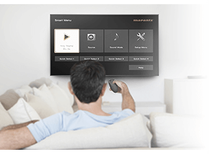 Marantz NR1509 - Smart TV afstandsbediening