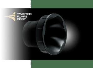 Yamaha NS-P41 - Twisted Flare Port