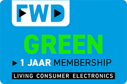 FWD GREEN 1 Jaar Membership
