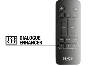 Denon DHT-S316 - Dialogue Enhancer