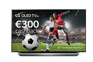 €300 Cashback LG OLED TV