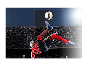 LG UK6100  - Voetbalmodus