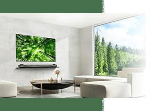 LG OLED Wallpaper W8