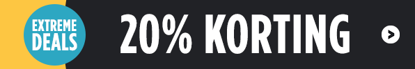 Extreme deals - 20% korting!