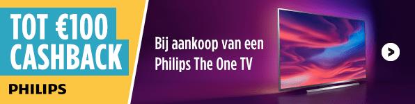 Philips Tot €100 Cashback!