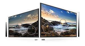 Samsung TU8000 - HDR