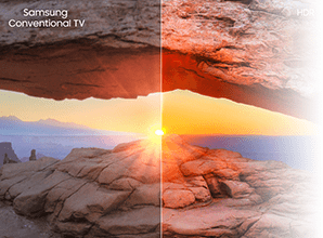 Samsung RU7100 - HDR