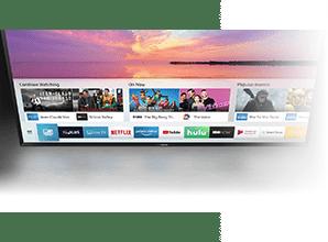 Samsung RU8000 - Smart TV