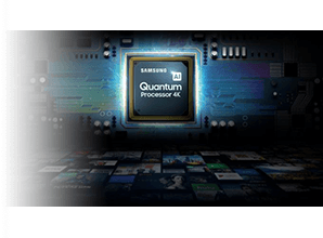 Samsung Q64R - Processor 4K