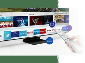 Samsung Q64R - Smart Hub