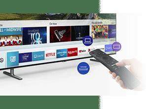 Samsung Q70R - Smart Hub