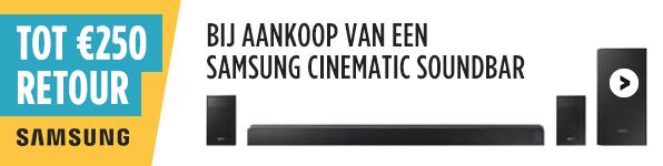 Samsung Soundbar Actie bij PlatteTV