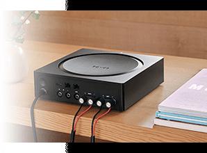 Sonos Amp - Gestroomlijnde poorten