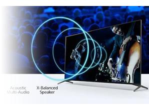 Sony XH9505 - Geluid