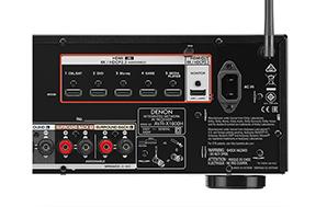 Denon AVR X1600H - 4K UHD en HDR