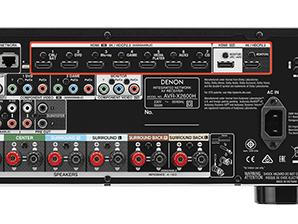 Denon AVR x2600h - 4K UHD en HDR