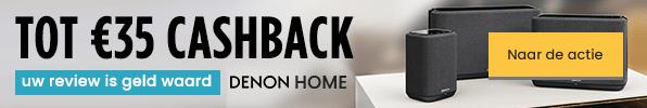 Tot €35 cashback - Uw review is geld waard - Denon Home