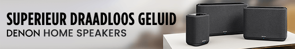 Superieur Draadloos Geluid - Denon Home Speakers