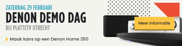 Denon Demo Dag - Zaterdag 29 februari - Bij PlatteTV Utrecht