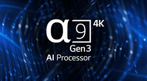 LG OLED ZX - a9 Gen 3 processor