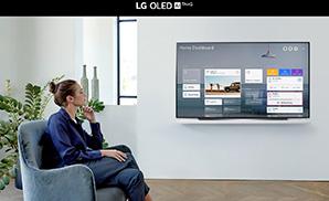 LG OLED CX - spraakbesturing