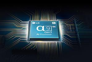 LG OLED CX - A9 processor Gen 3