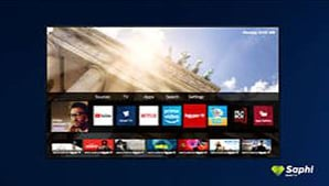 Philips PUS7555 - Saphi smart tv