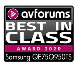 Samsung QLED 75Q950T - Award
