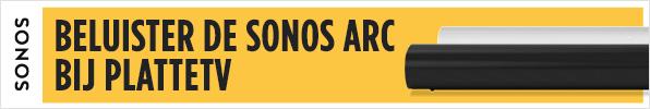 Beluister de Sonos Arc bij PlatteTV