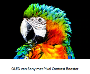 Sony OLED A8 - Pixel Contrast Booster
