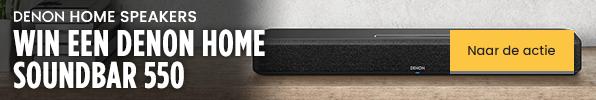Denon Home Speakers - Win een Denon Home Soundbar 550