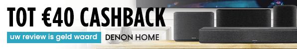 Tot €40 cashback - Uw reviewis geld waard - Denon Home