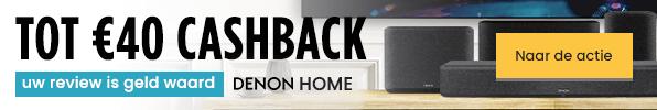 Tot €40 cashback - Uw review is geld waard - Denon Home