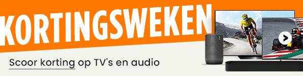 Kortingsweken bij PlatteTV - Scoor korting op TV's en audio