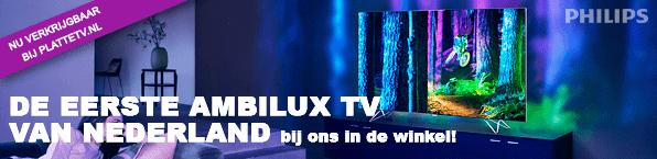 Philips AmbiLux TV nú verkrijgbaar bij PlatteTV.nl