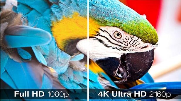 Sony UHP-H1 - 4K Upscaling