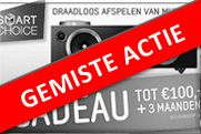 Samsung Smart Choice €100,- Cashback