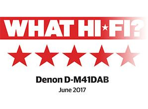 Denon D-M41DAB - What HiFi 5 star