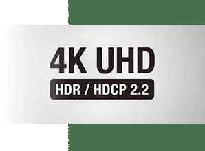Denon AVR X1500H - 4K UHD en HDR