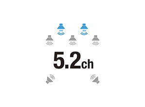 Denon AVR-X550BT - 5.2 kanaals