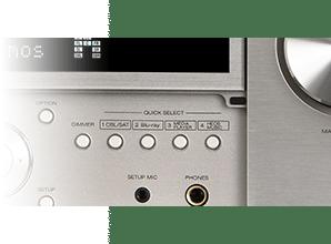 Denon AVR X6500H - Quick Select
