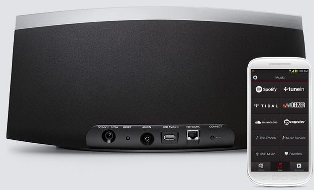 Streaming - Denon HEOS 7 HS2 Wit