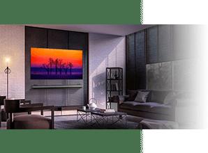 LG OLED W8 & W7 - Perfect contrast