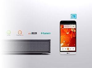 LG SJ8 - Google Chromecast