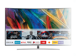 Samsung MU9000 - Smart TV