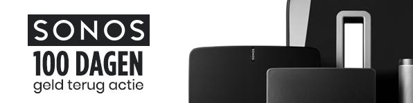 Sonos - 100 dagen Geld Terug Garantie