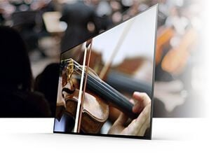 Sony - KD-55A1 OLED Acoustic Surface Design